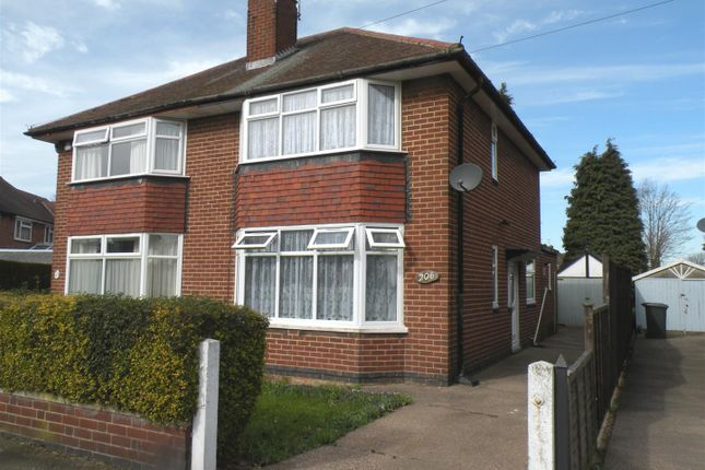 Thumbnail Semi-detached house to rent in Coleridge Street, Sunnyhill, Derby