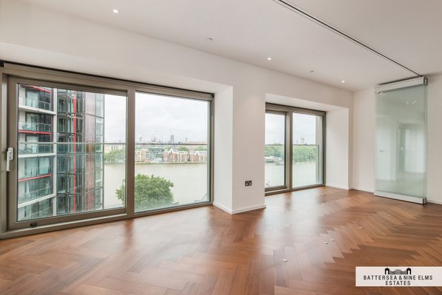 Thumbnail Flat to rent in Embassy Gardens, Capital Building, Nine Elms Lane