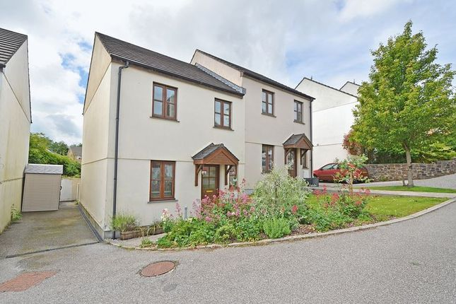 Thumbnail Semi-detached house for sale in Halbullock View, Gloweth, Truro