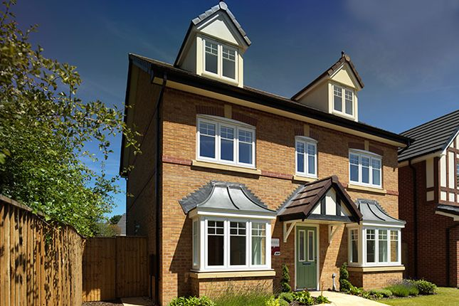 Thumbnail Detached house for sale in New Road, Roseacre Gardens, Rufford, Lancashire