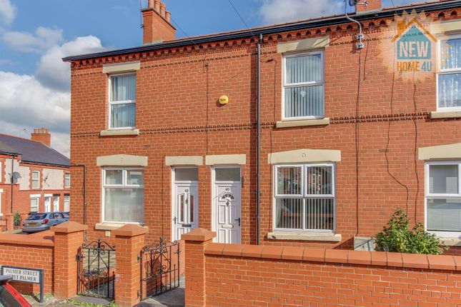 Front Of Home: of Palmer Street, Wrexham LL13