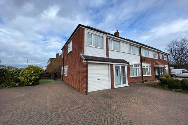 Thumbnail Semi-detached house for sale in Redcar Road, Marske-By-The-Sea, Redcar