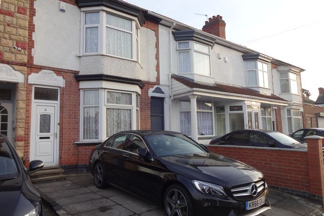 3 bed terraced house for sale in Baden Road, Leicester, Leicestershire