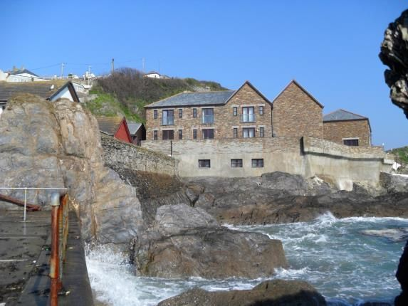 Thumbnail End terrace house for sale in East Quay, Mevagissey, St. Austell