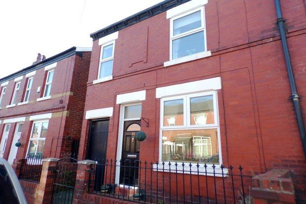 Thumbnail End terrace house to rent in Hazel Street, Stockport