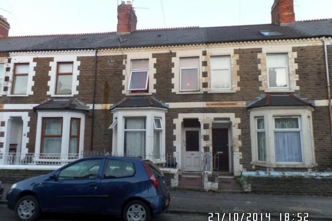 Thumbnail Block of flats for sale in Diana Street, Roath, Cardiff