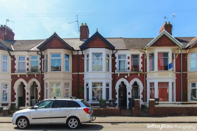Thumbnail Terraced house to rent in Llanishen Street, Heath, Cardiff