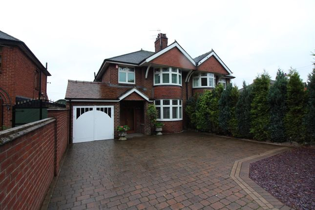 Thumbnail Semi-detached house for sale in Uttoxeter Road, Blythe Bridge, Stoke-On-Trent