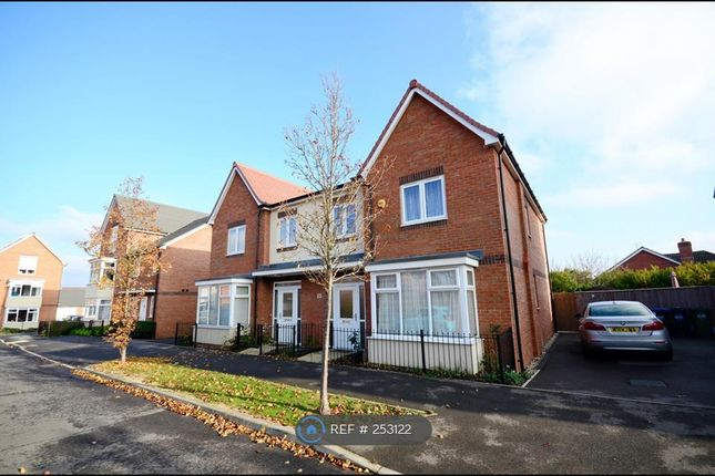 Thumbnail Semi-detached house to rent in Edison Drive, Rugby