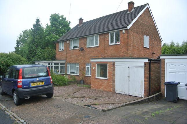 Thumbnail Semi-detached house to rent in Robert Avenue, Erdington, Birmingham