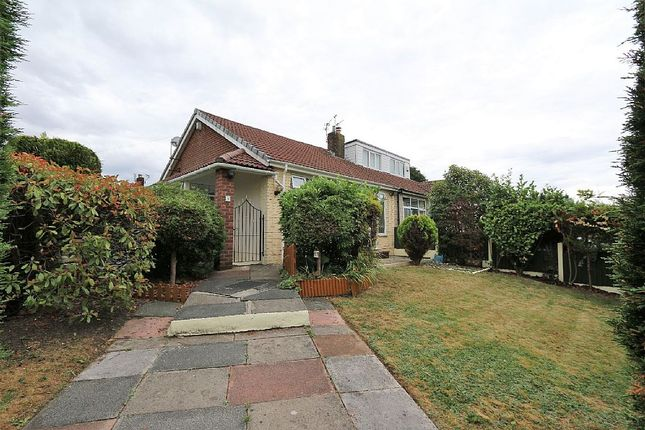 Thumbnail Semi-detached bungalow for sale in Gloucester Road, Alkrington Village, Middleton, Manchester, Greater Manchester