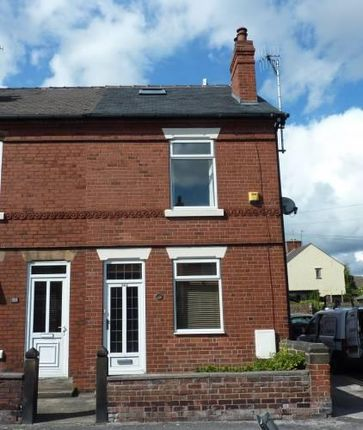 3 bed end terrace house to rent in Chatsworth Road, Brampton, Chesterfield S40