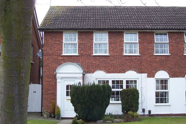 Thumbnail Semi-detached house to rent in Wolsey Way, Syston, Leicester