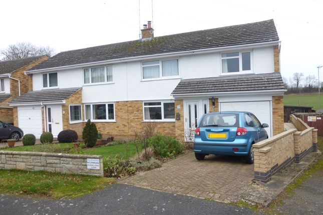 Thumbnail Semi-detached house for sale in Winston Close, Nether Heyford, Northamptonshire