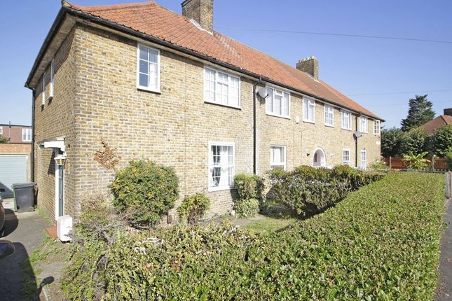 Thumbnail End terrace house for sale in Ivorydown, Downham, Bromley