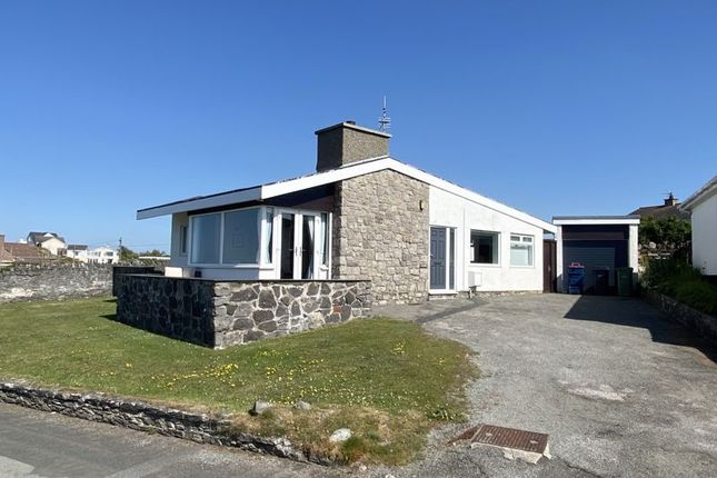 Thumbnail Detached bungalow for sale in Ravenspoint, Trearddur Bay, Holyhead