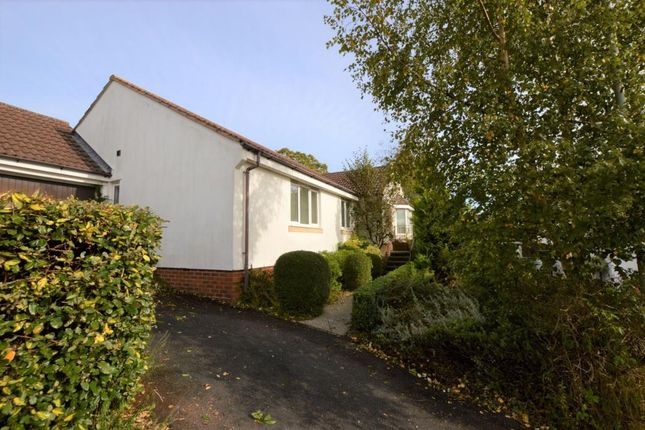 Thumbnail Detached bungalow for sale in Southfield Drive, Crediton, Devon