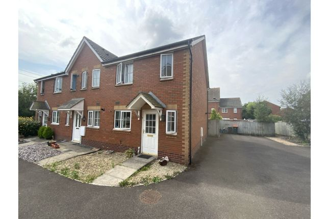 Thumbnail End terrace house for sale in Old Castle Close, Newport