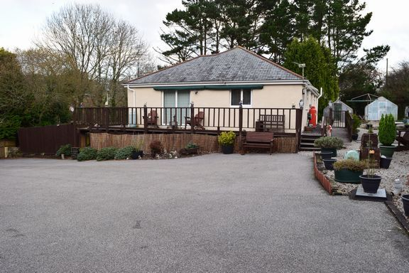 Thumbnail Detached bungalow for sale in Trehaddle, Truro