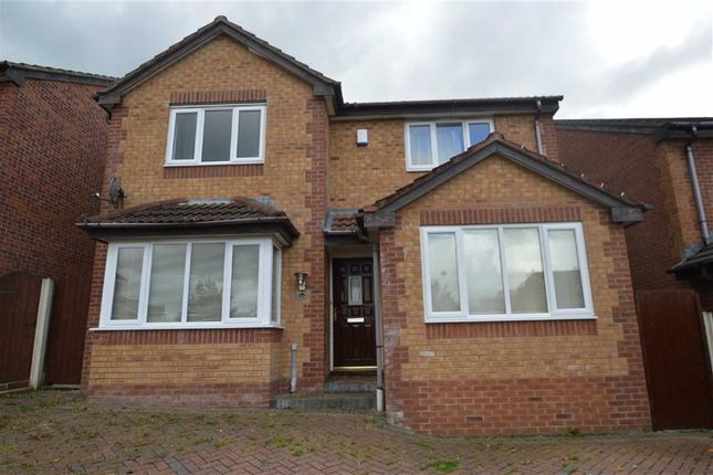 Thumbnail Detached house to rent in Parkes Way, Blackburn
