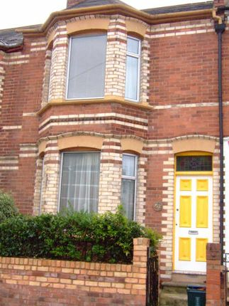 Thumbnail Terraced house to rent in Priory Road, Exeter