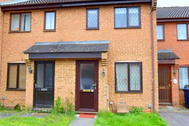 Thumbnail Terraced house to rent in Swift Close, St Neots, Cambridgeshire