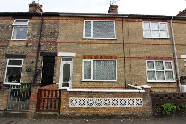 Thumbnail Terraced house to rent in Payne Street, Lowestoft, Suffolk