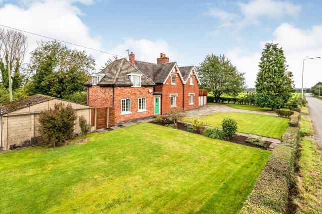 Thumbnail Detached house for sale in Agden Brow, Nr Lymm, Cheshire