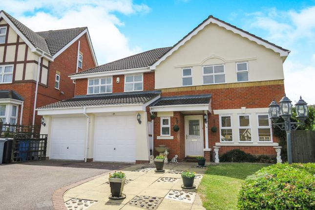 Thumbnail Detached house for sale in Buckingham Court, Barton Seagrave, Kettering