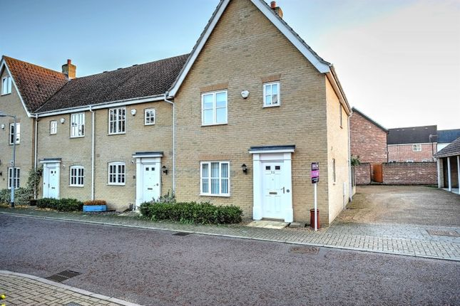 Thumbnail End terrace house for sale in Doune Way, Harleston