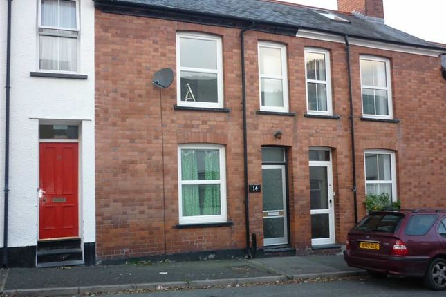 Thumbnail Terraced house to rent in Edgehill Road, Aberystwyth