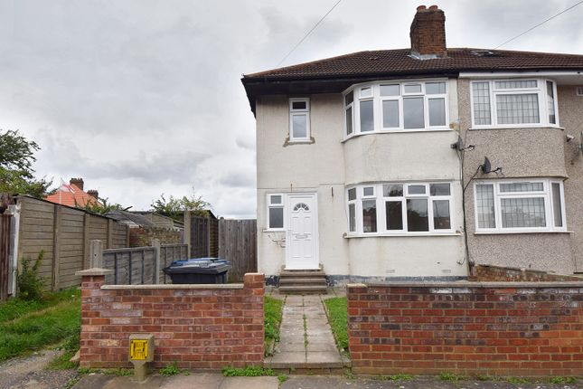Semi-detached house to rent in Siverst Close, London