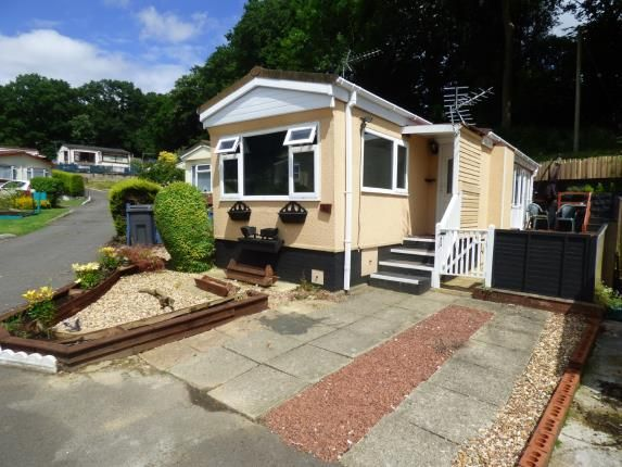 Thumbnail Mobile/park home for sale in Upper Toothill Road, Rownhams, Southampton