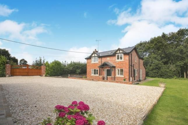 Thumbnail Detached house for sale in Moss Cottage, 2 Moss Lane, Eaton, Congleton