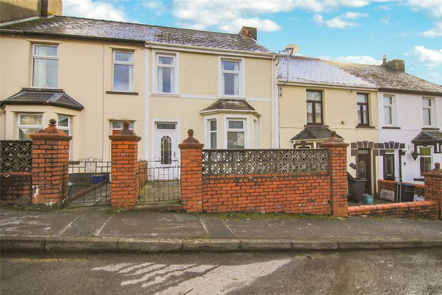 Thumbnail Terraced house for sale in Harcourt Road, Brynmawr, Ebbw Vale, Gwent