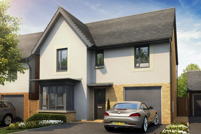 "Thumbnail Detached house for sale in ""Somerton"" at Poplar Close, Plympton, Plymouth"