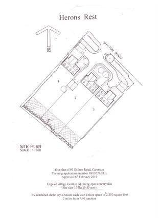 Thumbnail Land for sale in 95 Shilton Road, Carterton