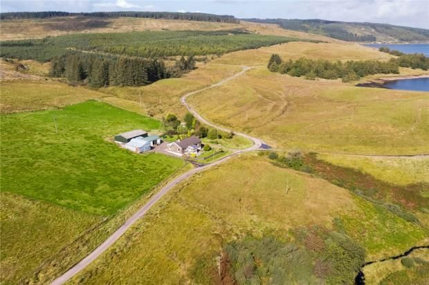 Thumbnail 4 bed detached bungalow for sale in Gobagrennan Cottage, Campbeltown, Argyll And Bute