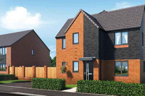 "Thumbnail Property for sale in ""The Sinderby At Riverbank View"" at Concord Place, Salford"