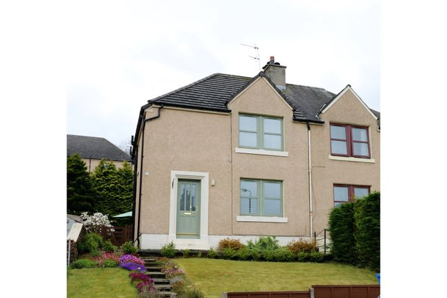 Thumbnail Semi-detached house for sale in Fountainpark Crescent, Bo'ness