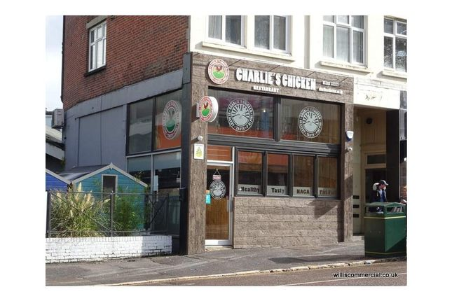 Thumbnail Restaurant/cafe to let in 21 Exeter Road, Bournemouth