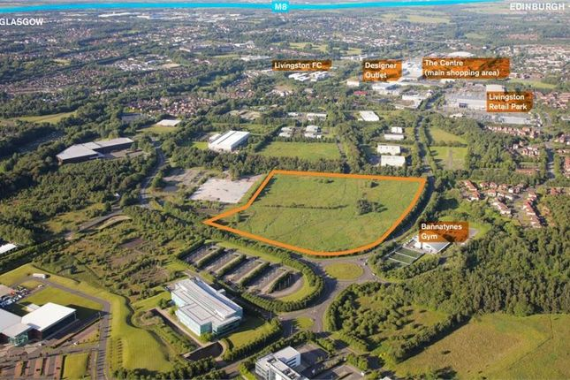 Thumbnail Land for sale in Land At Charlesfield Road, Gregory Road, Livingston