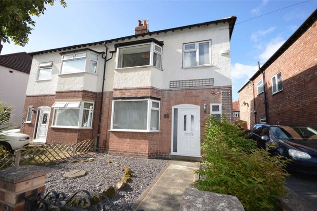 Thumbnail Semi-detached house for sale in St. David Road, Eastham, Wirral