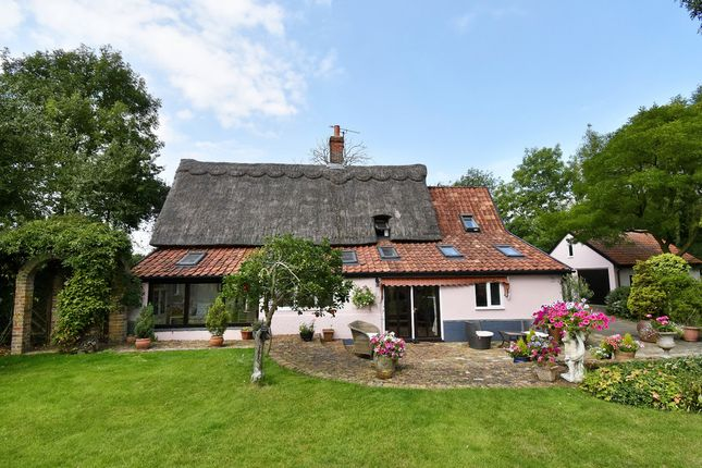 Thumbnail Detached house for sale in Combs, Stowmarket, Suffolk