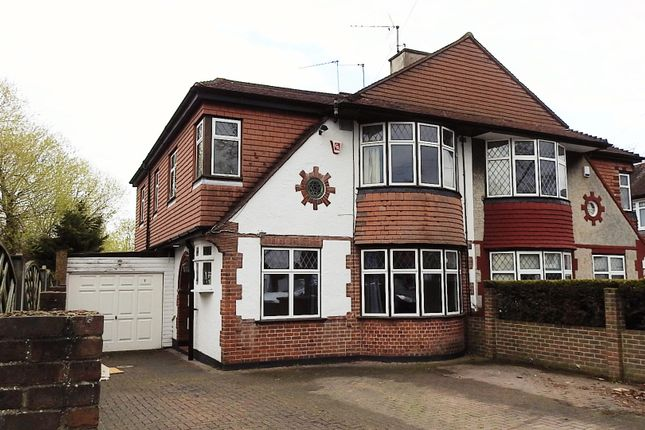 4 bed semi-detached house for sale in Burnham Drive, Worcester Park KT4