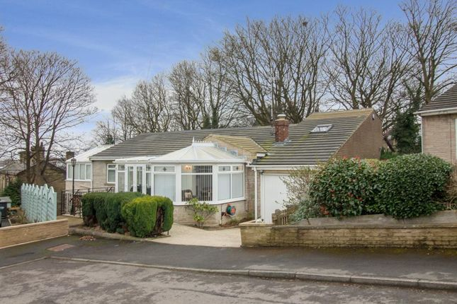 Thumbnail Detached bungalow for sale in Healey Wood Grove, Rastrick, Brighouse