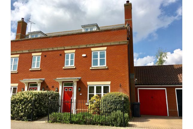 Thumbnail Semi-detached house for sale in Mansbrook Boulevard, Ipswich