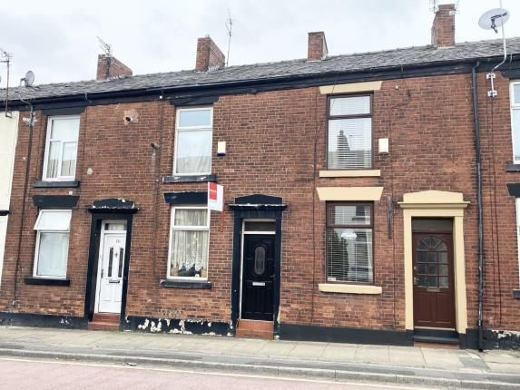 Front of Cheetham Hill Road, Dukinfield, Greater Manchester, United Kingdom SK16