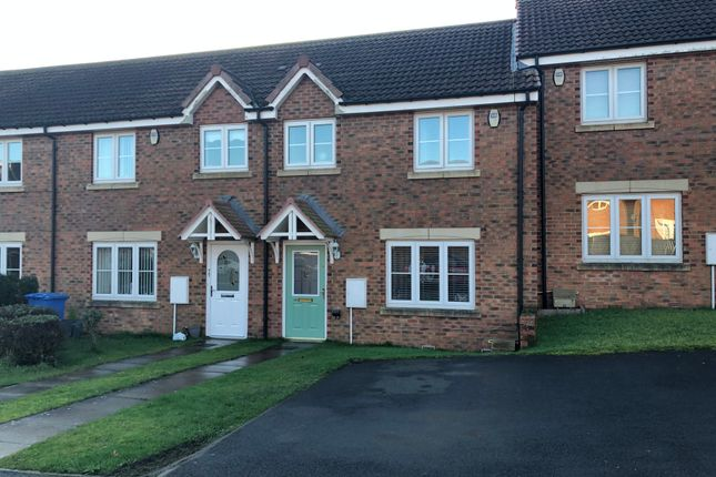 Thumbnail Terraced house to rent in Tyelaw Meadows, Shilbottle, Alnwick