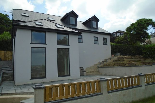 Detached house for sale in Goppa Road, Pontarddulais, Swansea